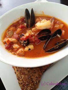 Bouillabaise. 2 Chefs' Affair. Nanaimo restaurants. www.cakesandamyeatout.com Chefs, Thai Red Curry, Affair, Seafood, Amy, Restaurants, Soup, Ethnic Recipes, Sea Food