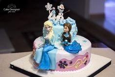 Cake Designer per caso [Frozen - Olaf, Elsa & Anna]