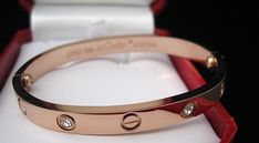 …things! ♥♥♥ Cartier 18k Pink Gold Pove bracelet hermespocketsquare: