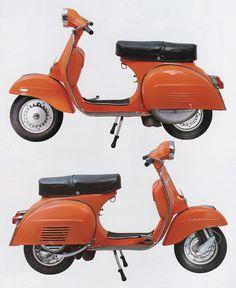 On a Scooter Vespa P200e, Piaggio Vespa, Lambretta Scooter, Vespa Scooters, Mod Scooter, Scooter Motorcycle, Vespa 150 Sprint, Classic Vespa, Motor Scooters