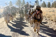 So honored to work with these men...Marine Corps Mountain Warfare Training Center, Bridgeport, Calif. (Photo By: Staff Sgt. Steve Cushman) #USMC #USMarines #USMilitary http://www.us-military-rings.com