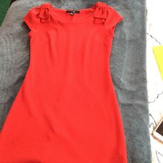 Forever 21 red bless with bows Only worn once so cute on for any occasion! Forever 21 Dresses Midi