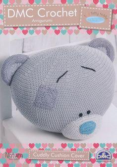 Tiny Tatty Teddy - Cuddly Cushion Cover Crochet Pattern (15284L/2)   Deramores