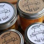 Free printable canning labels. Love! Via @thekitchn