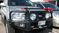 ARB bumpers for the 200 Series LandCruiser.