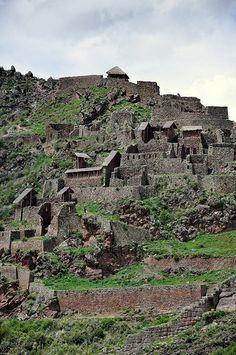 Qallaqasa Inca fortress, Sacred Valley, Peru ~ UNESCO World Heritage Site