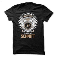 Never Underestimate The Power of a SCHMITT - #design t shirt #movie t shirts. BUY NOW => https://www.sunfrog.com/Names/Never-Underestimate-The-Power-of-a-SCHMITT.html?60505