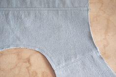 Alder Sew Along Day 7: Yoke Method 1