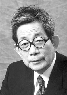 """Kenzaburo Oe, The Nobel Prize in Literature 1994: """"who with poetic force creates an imagined world, where life and myth condense to form a disconcerting picture of the human predicament today"""", prose"""