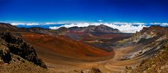 Haleakala. Took the bike ride from the crater's rim to the sea. Liked it so much, I did it twice! :) INCREDIBLE!!!!!!!!
