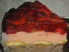 Jak wykonać ciasto z truskawkami bez pieczenia? Otóż można to zrobić w bardzo prosty i ciekawy sposób... Oto nasz pomysł: Jego wykonanie raczej nie powinno nastręczyć większych kłopotów w przygotowaniu. Przepis na budyniowiec na zimno z truskawkami.