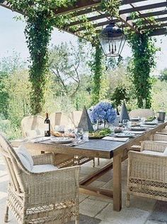 Nest by Tamara: Nest by Tamara's UNDER THE PERGOLA summer column, plus, the value of adding a pergola to your outdoor space for instant coziness Diy Pergola, Curved Pergola, Wooden Pergola, Outdoor Pergola, Covered Pergola, Pergola Shade, Outdoor Rooms, Outdoor Furniture Sets, Pergola Ideas