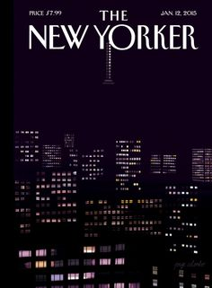 The New Yorker Cover - January 2015 Poster Print by Jorge Colombo at the Condé Nast Collection