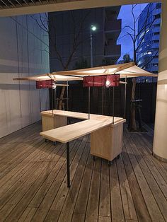 the incorporated minimal awning and L-extension (removable) Kiosk Design, Cafe Design, Booth Design, Retail Design, Store Design, Food Cart Design, Food Kiosk, Coffee Carts, Food Stands