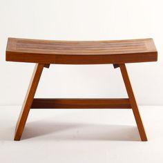 Teak Bench - Unique Modern Furniture - Dot & Bo