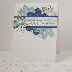 I found this project in the Top Dog Dies Idea Gallery. See more card, scrapbooking and craft project ideas and share your own. Christmas Puns, Christmas Projects, All Things Christmas, Christmas Cards, Snowflake Cards, Snowflakes, Xmas Theme, Simple Reminders, Craft Projects