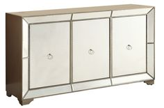 Lena Mirrored Console Table