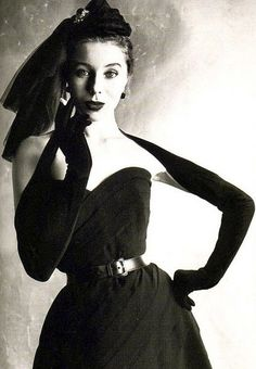 Dior 1950 #vintage #dress #vintagedress
