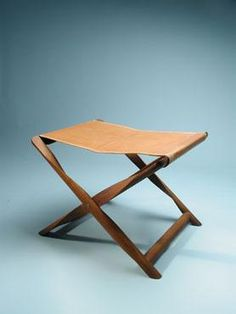 Propeller Stool, designed in 1930 by Danish designer Kaare Klint