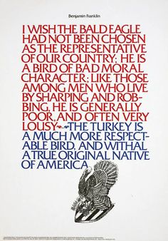 Poster designed by Herb Lubalin - 1966 used typeface Fritz Quadrata by Ernst Friz