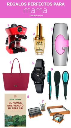 f54d7125b384 She Petite · Shopping Guides · Regalos perfectos para mamá
