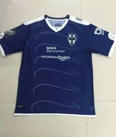 Monterrey 16-17 Season Away Blue Soccer Shirt [G393]