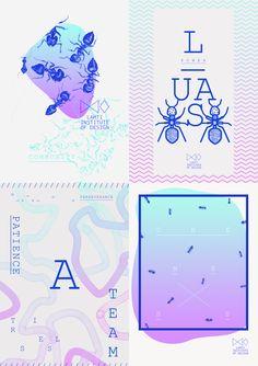 ANT & DESIGN by SEEMONA ., via Behance