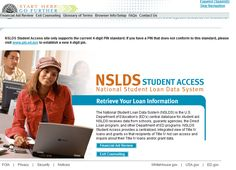 The National Student Loan Data System allows borrowers to obtain information about their federal student loans.