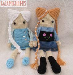 DEf Elsa y Anna patron