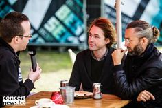 Backstage pictures during interview with Mew at Best Kept Secret Festival 2015 on Sunday. - https://www.facebook.com/concertnieuws/posts/10152988684043034