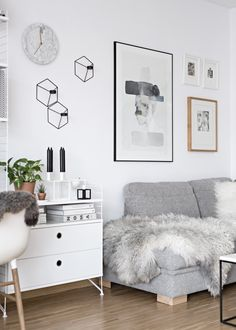 new poster in our scandinavian living room | My Full House