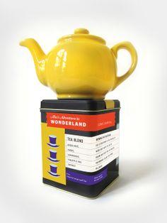 Literary tea blends