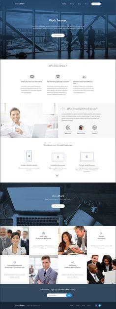 DocuShare - Website Design