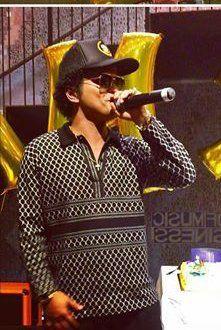 Bruno Mars and Celebrities