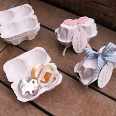 Huevera  hueverilla para el niño y la niña! Packaging creativo El Tarro de Ideas