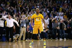 Jarrett Jack game tying three against the Spurs. Check out Joe Lacob!!!