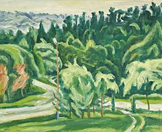 Ernest Zmeták: Bardejovský park:1976 Milan, Park, Painting, Author, Painting Art, Parks, Paintings, Painted Canvas, Drawings