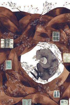 """Forest Bear"" by Gemma Capdevilla"
