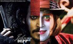 ohhh the many faces of johnny depp