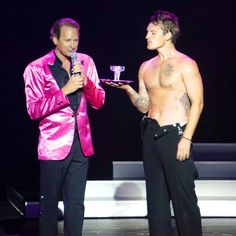 Carson Kressley and Tristan MacManus, Dancing with the Stars: At Sea on Holland America Line – MacManiacs.org (Image Copyright © Jason Leppert)