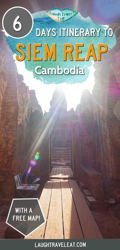 As a first time visitor to Siem Reap (and Cambodia), we spent 6 days exploring Angkor and Siem Reap and here's our tips and itinerary: via @https://www.pinterest.com/laughtraveleat