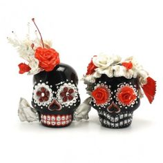 Dia de los Muertos Inspiration - 25 Brilliant Sugar Skull Ideas!