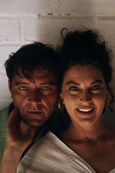 Richard Burton & Ava Gardner on the set of The Night of the Iguana (1964)