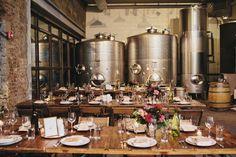 Romantic Brooklyn Winery Wedding  | A Brooklyn wedding venue | www.partyista.com