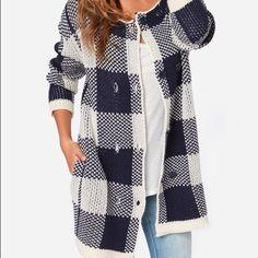 Joa sweater jacket Size small, new . Super warm !!! Runs big for that boyfriend look! JoA Sweaters Cardigans
