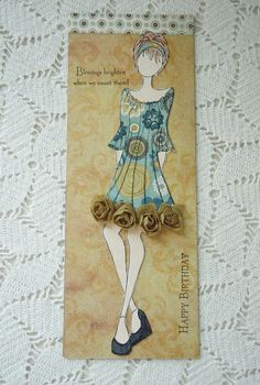Prima Paper Doll Stamp | Flickr - Photo Sharing!
