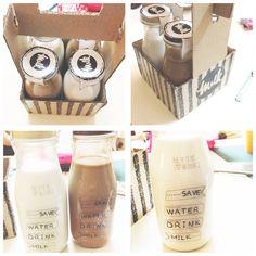 Save Water Drink Milk Packaging