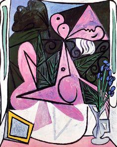 Pablo Picasso - Nude With Iris, 1934