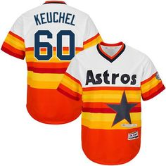 dbc518f249a Astros  60 Dallas Keuchel White Orange Cooperstown Stitched Youth MLB  Jersey Houston Astros Gear