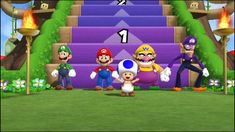 Mario party 9 Step it up (Free for all) gameplay #1